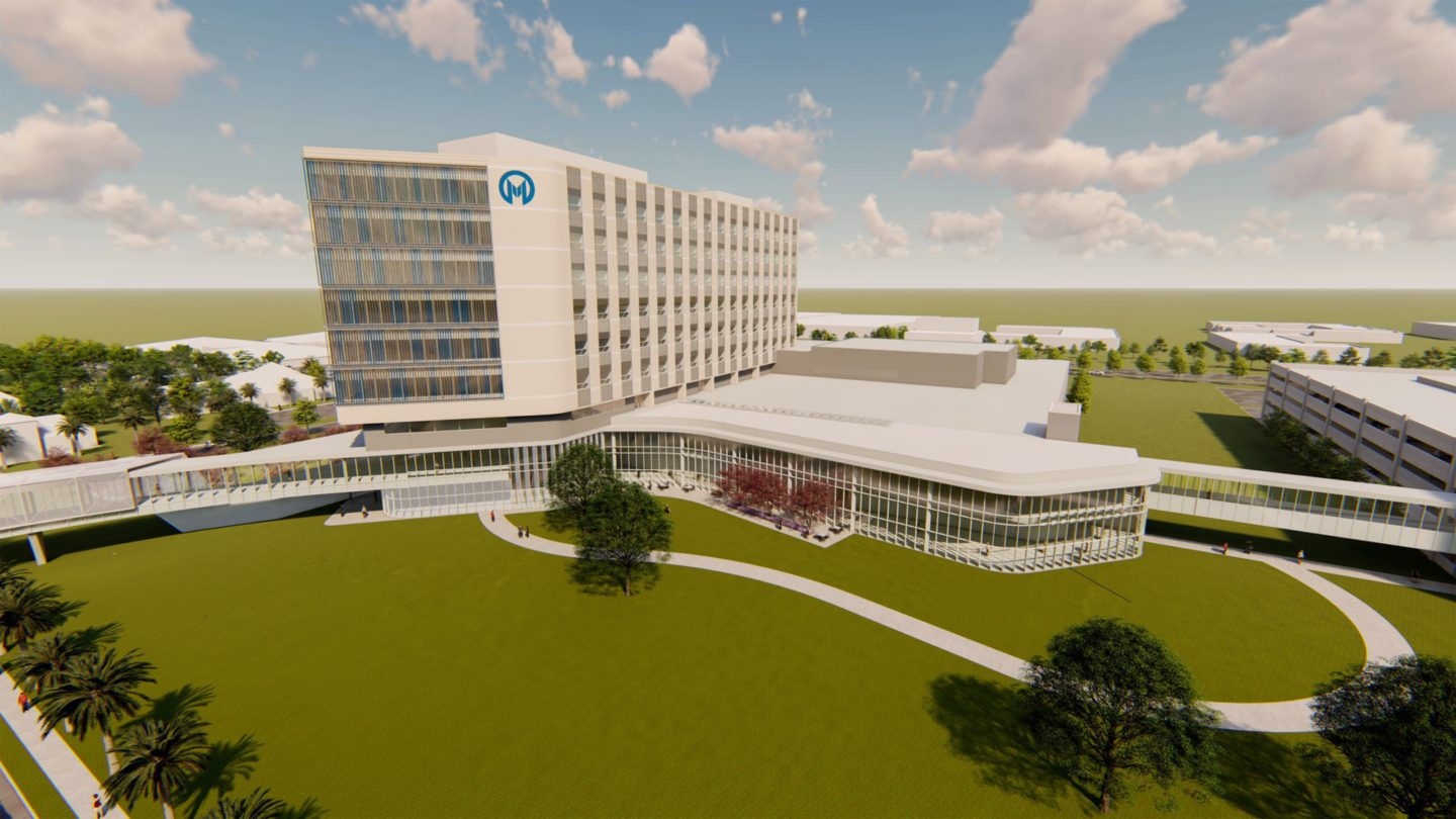 Moffitt Cancer Center Rendering