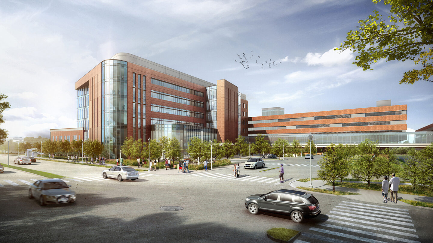 Virginia Hospital Center Rendering high res
