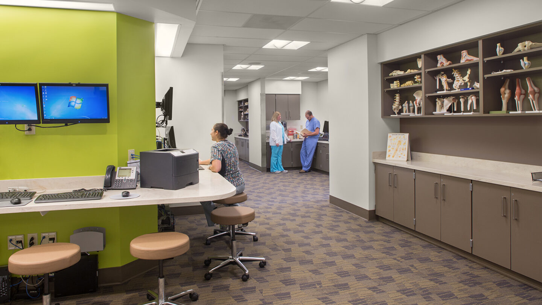 Phoenix Medical Office Building Interior